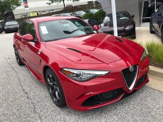 Alfa Romeo Giulia >> 2019 Alfa Romeo Giulia Quadrifoglio Rwd