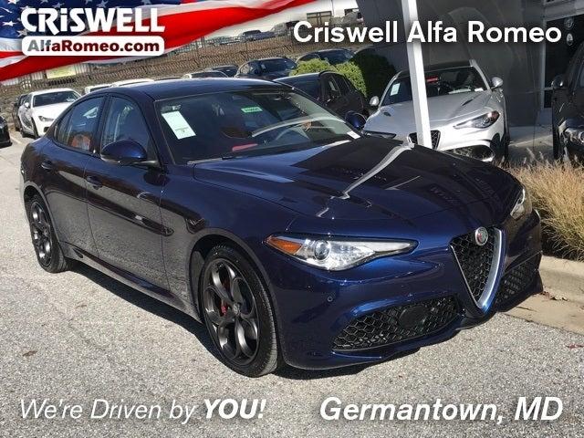Shop The 2019 Alfa Romeo Giulia Ti Sport Awd In Germantown Md At