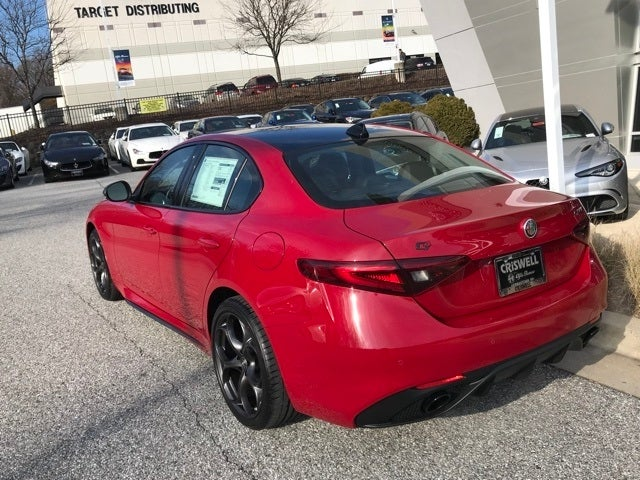 2019 Alfa Romeo Giulia Ti Sport Carbon Awd